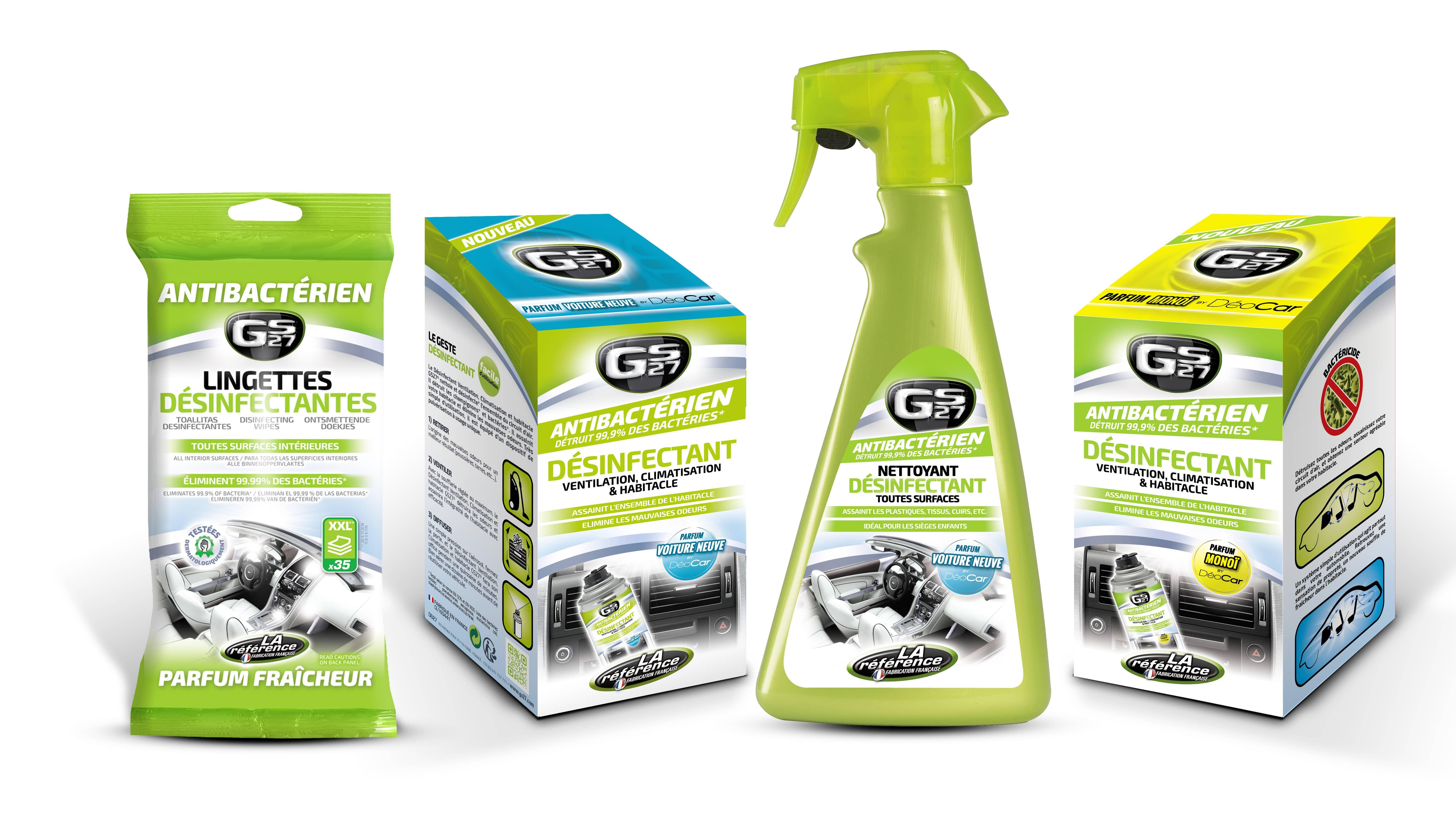 Produits Anti-bactériens GS27