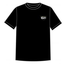 T Shirt Noir Logo GS27 Vert Taille M