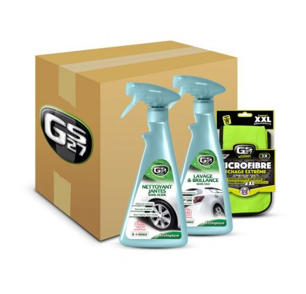 kit lavage ext rieur voiture cologique gs27 lavage ecologique sans eau voiture. Black Bedroom Furniture Sets. Home Design Ideas