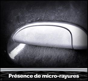 Présence du micro-rayures